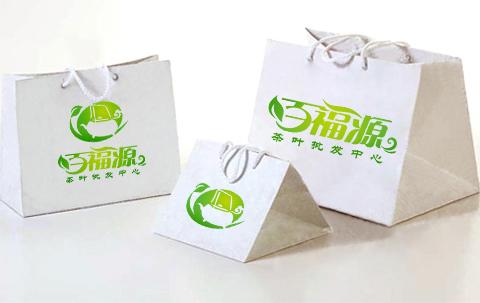 百福源 茶庄,设计logo,倒水的茶壶加百,设计师,看你的