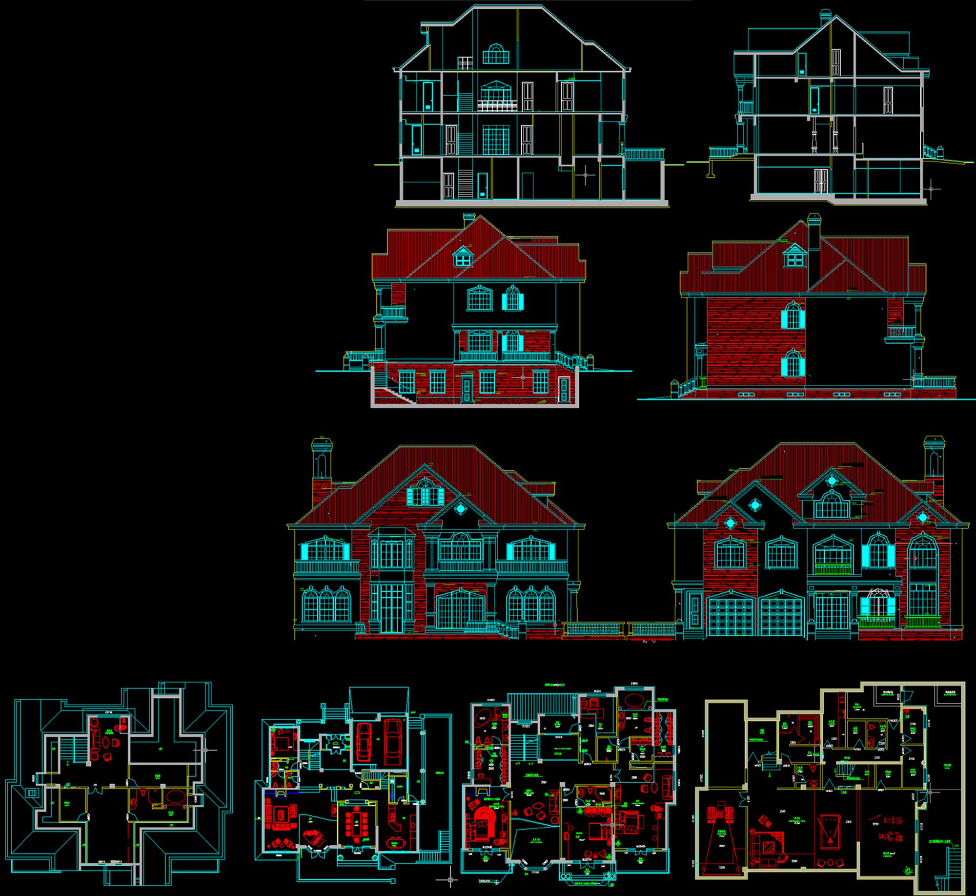 自建单体花园别墅征集设计方案【参与时间从后到前】