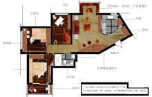 威客服务:[12799] 空间平面方案规划