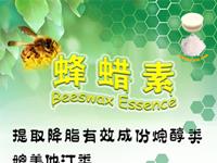 广州蜂蜡素产品宣传单设计