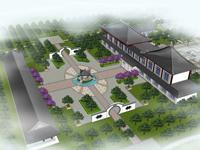 办公区外围景观设计
