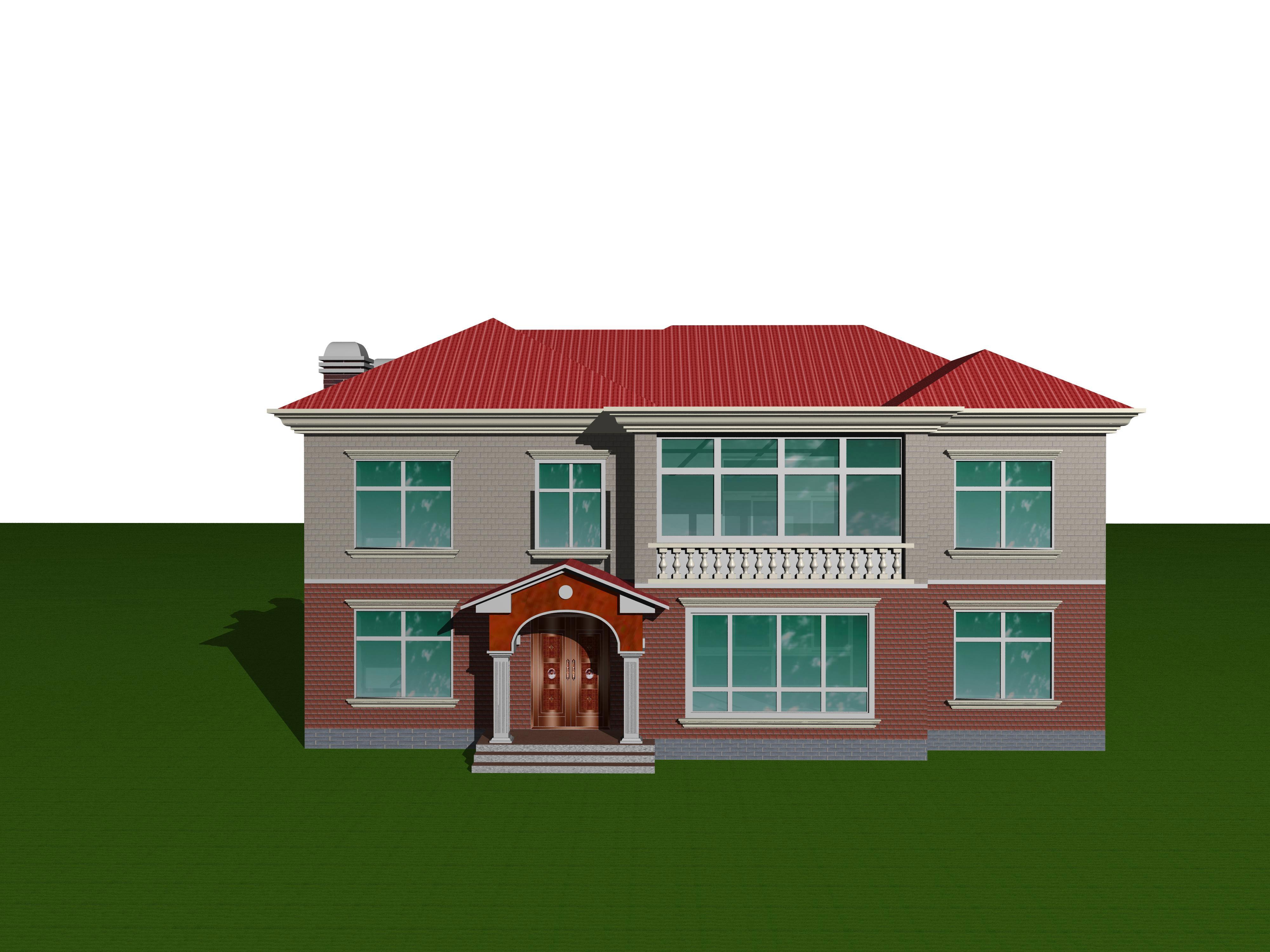 北方房屋效果图