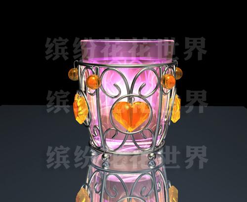 产品外观设计 烛杯