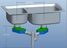 威客服务:[18094] 一种新型下水器组件