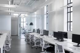 办公室装修设计空间设计理念 办公空间设计装修围合方案