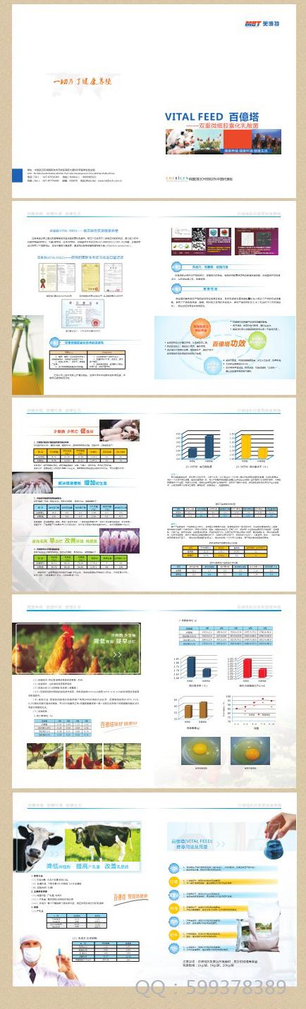生物科技类画册