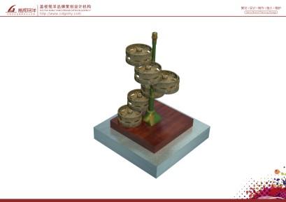 坦克部隊廢舊零件雕塑設計