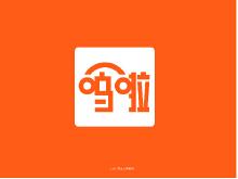 练车 app logo设计