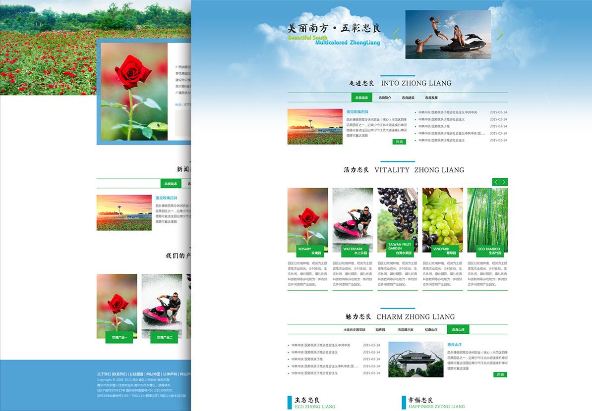 南寧市美麗南方網站設計