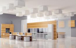 现代个性办公室装潢设计的思路