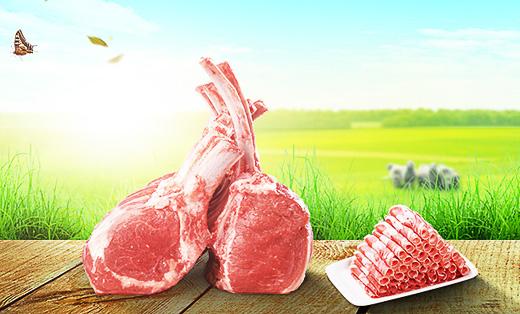 冠扬羊肉网页美工设计