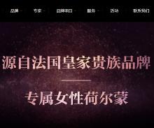 美容机构官方网站建设