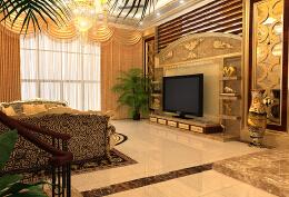 欧式豪华别墅设计各个家装局部的体现