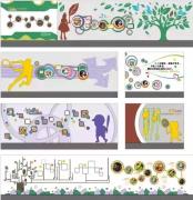 幼儿园室内文化墙设计系列欣赏