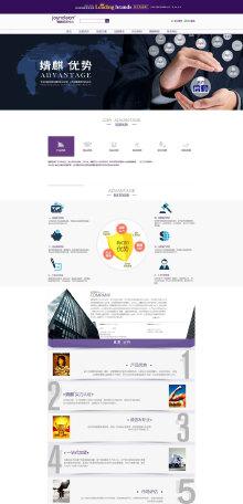 官网网页设计排版美化