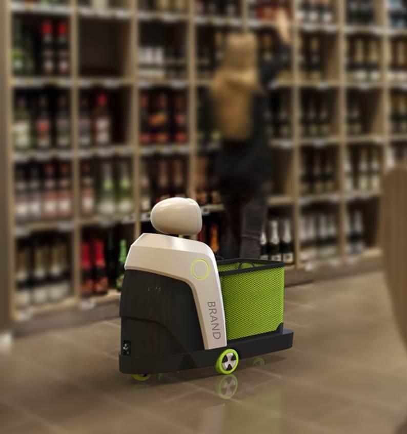 超市智能跟隨機器人