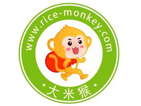 """公司""""大米猴""""图形商标设计"""