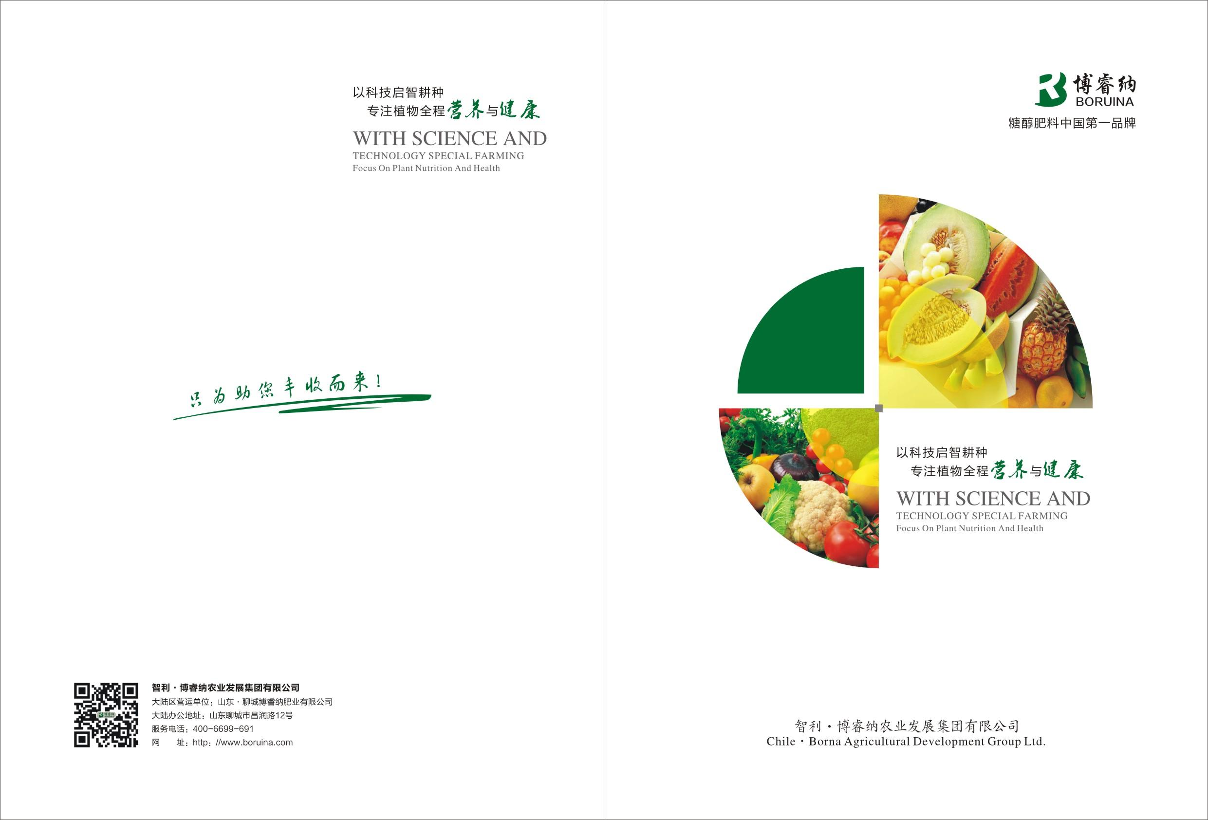 化肥產品畫冊設計