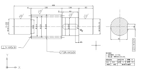 CAD机械零件图