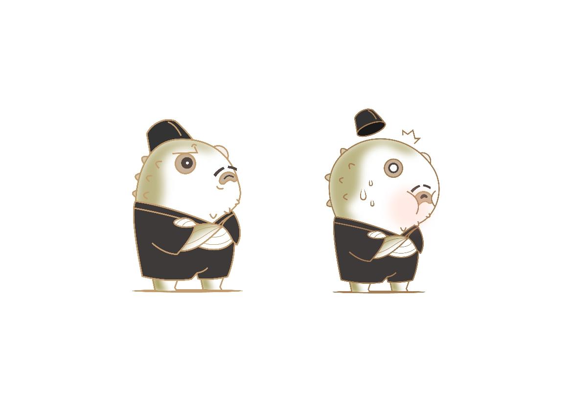 深圳三十六料理吉祥物设计-豚叔