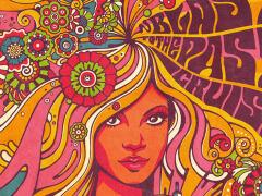 10张花卉版个性艺术字体设计欣赏