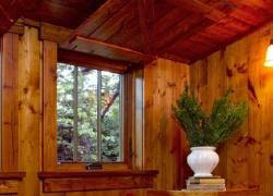 原木自然东南亚窗户设计