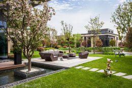 庭院高档别墅设计