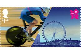 2012伦敦奥运会邮票设计