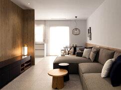 11张极简风格的50平米房间装修设计效果图