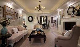 8张美式田园风格的家装装修设计效果图