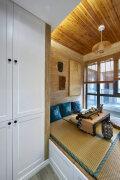 日式风格的阳台榻榻米装修实景图欣赏