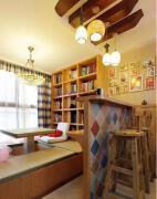 今年的室内小户型小书房榻榻米设计图片