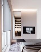 商务公寓简约风格装修案例欣赏