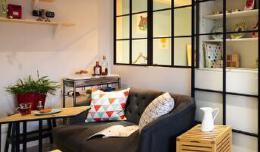 台湾温馨的50平小户型室内装修图片