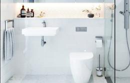 极简风格卫生间装修设计案例欣赏