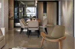东南亚风格装修客厅玄关装饰画效果图