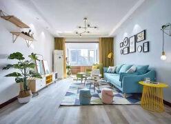 小户型装修现在流行把阳台包进客厅,可以让你家多10平米