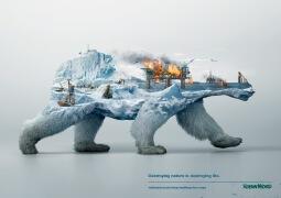 破坏自然就是毁灭生命:Robin Wood公益广告