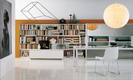 4张家庭室内书房设计实景图欣赏