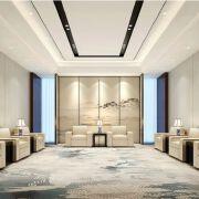 现代中式接待室装修设计欣赏