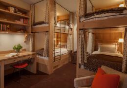 复古英伦风格寝室装修设计图片欣赏