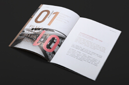 一组优质的企业广告手册设计欣赏