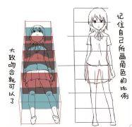 【素材资源】各角度动漫人物画法参考
