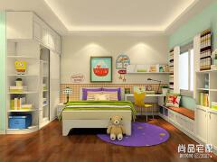 儿童房手绘效果图——考虑宝宝们的意见