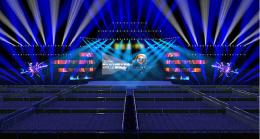 舞台灯光效果图3D模型
