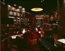 英式复古酒吧雪茄吧装修效果图