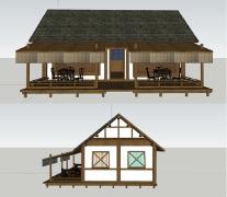 茶室店面设计