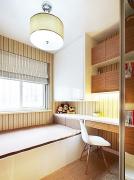 白色卧室窗帘窗帘效果图