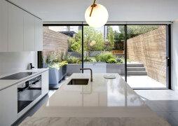 幽静的庭院与时尚气息的现代简约住宅设计