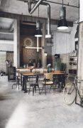 欧美风工业风格餐厅装修设计